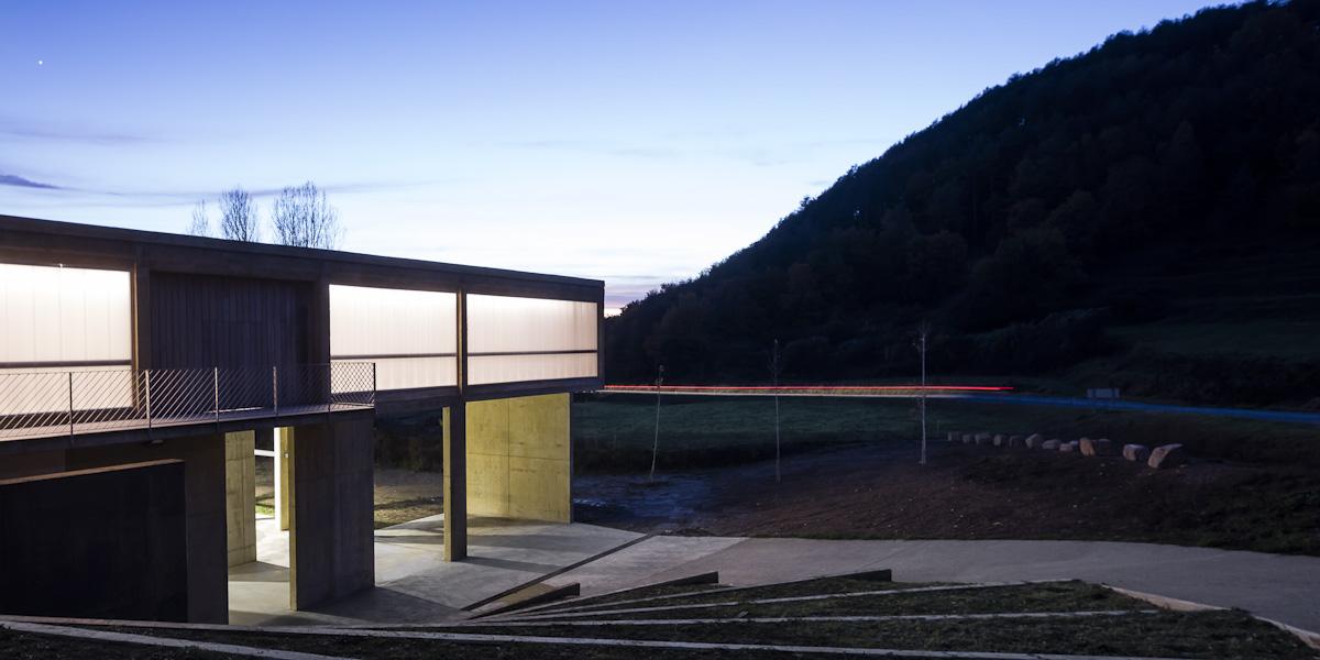 Centre d'activitats en el paisatge a Les Llosses