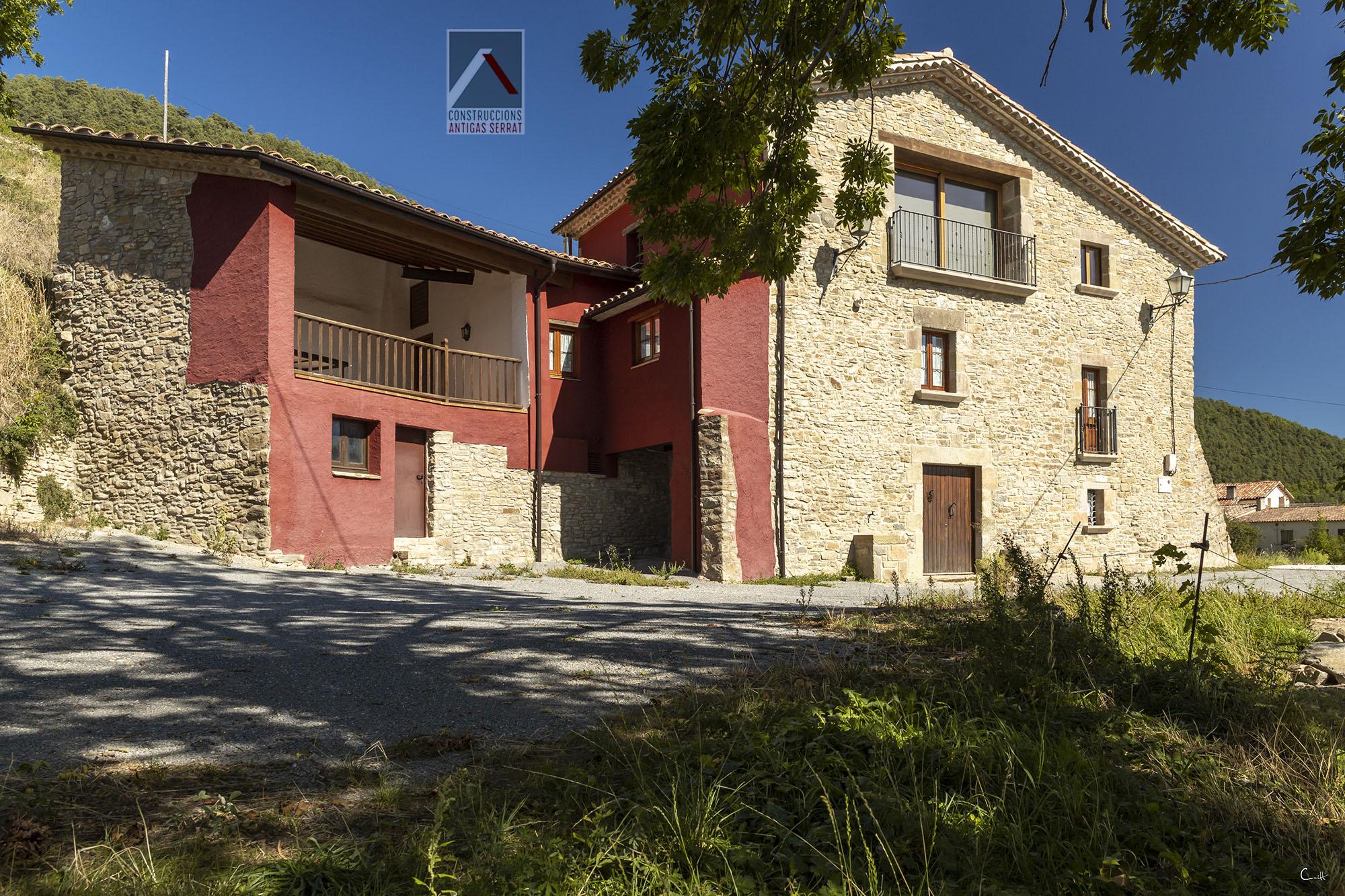 Rehabilitació masia a Les LLosses